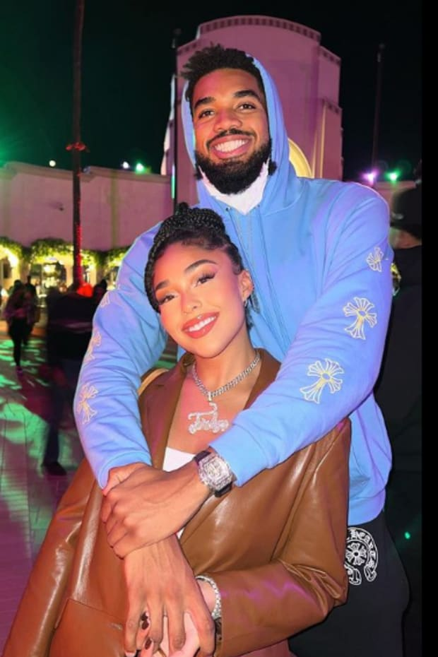 Karl-Anthony Towns and Jordyn Woods