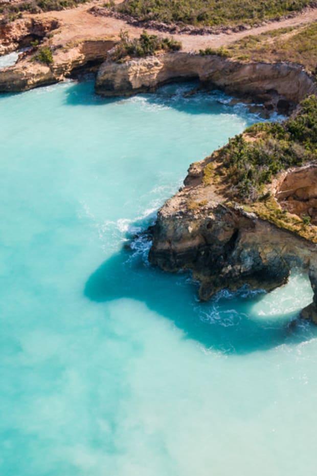 Anguilla drone shot