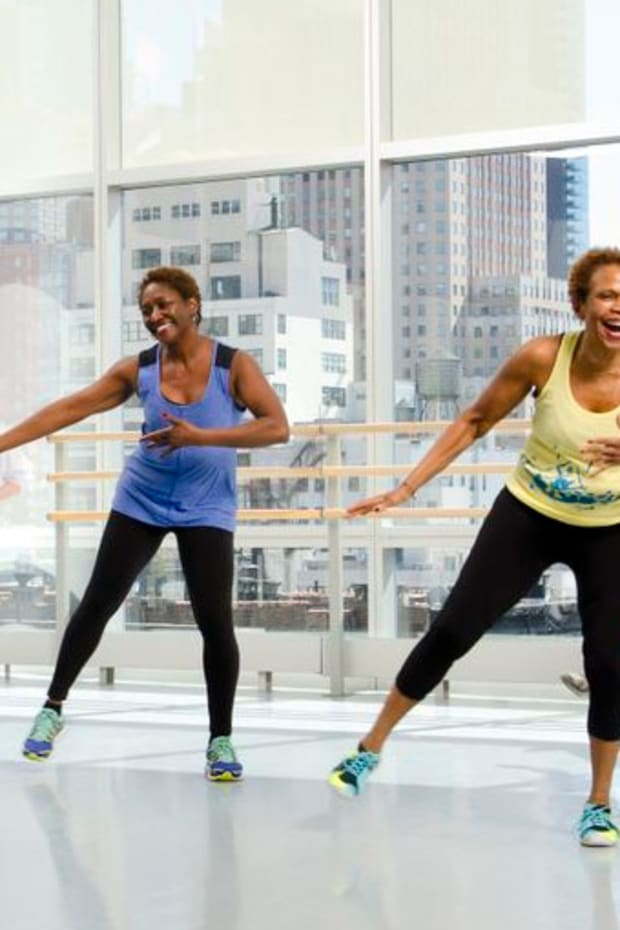Zumba at Ailey Extension. Photo by Kyle Froman