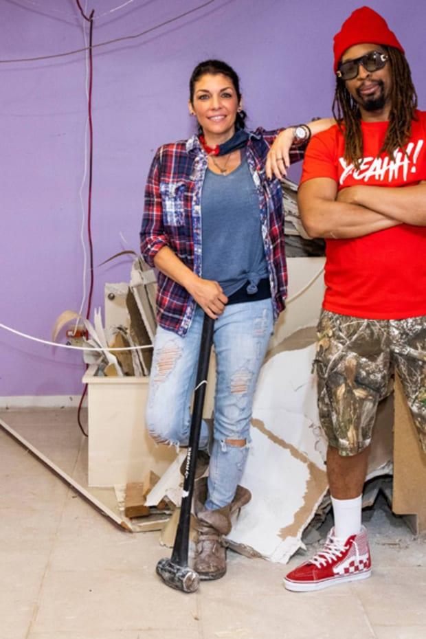 Lil Jon and Anitra Mecadon