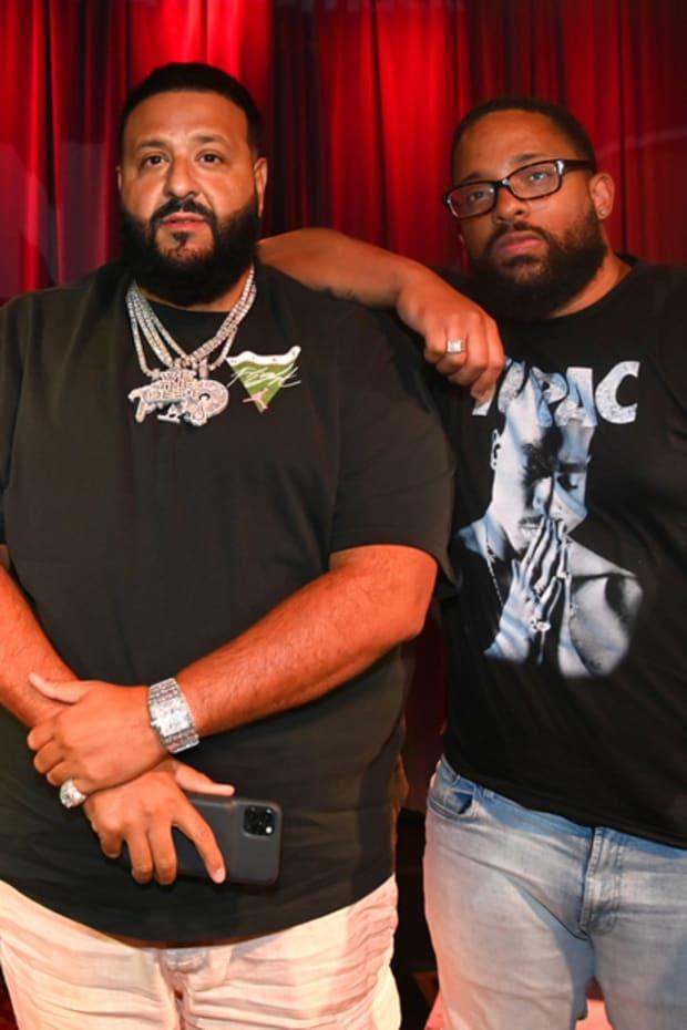 "DJ Khaled and Carl Lamarre at Audiomack's ""Beyond the Beat"""