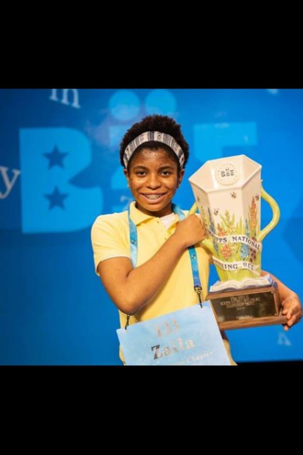 2021 Scripps National Spelling Bee champion Zaila Avant-garde
