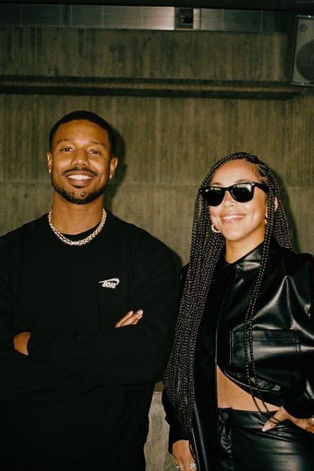 Michael B. Jordan and Lauren London