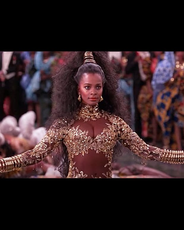 Vanessa Bell Calloway as Imani Izzi in Coming to America