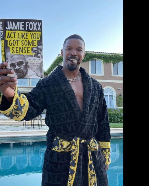 Jamie Foxx's book Act Like You Got Some Sense