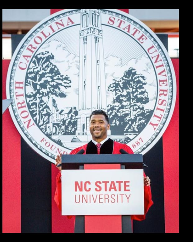 Russell Wilson NC State Commencement Speech