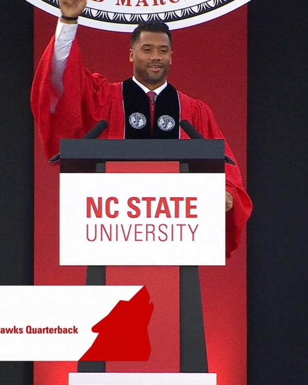 Russell Wilson NC State Commencement Speech