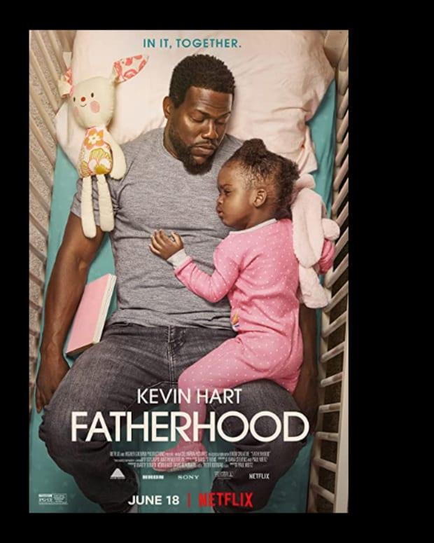 Kevin Hart Fatherhood movie poster