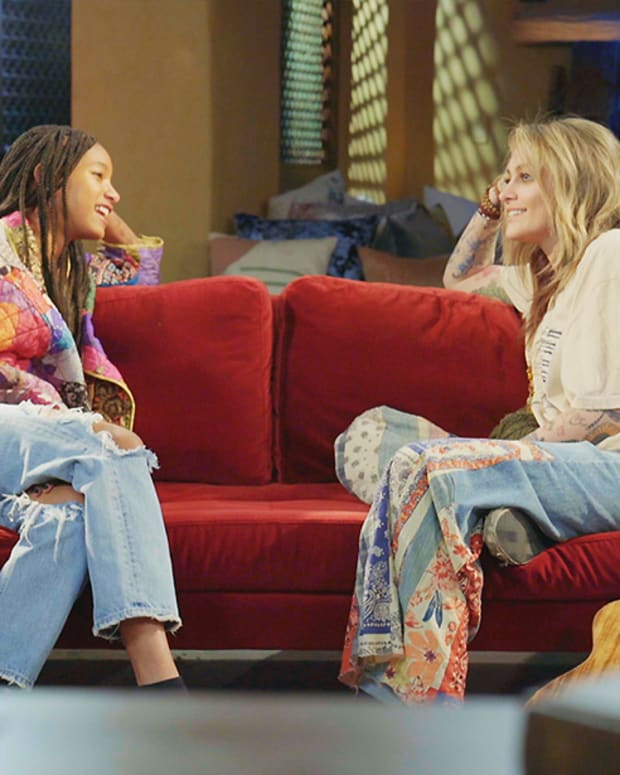 Willow Smith and Paris Jackson on Red Table Talk