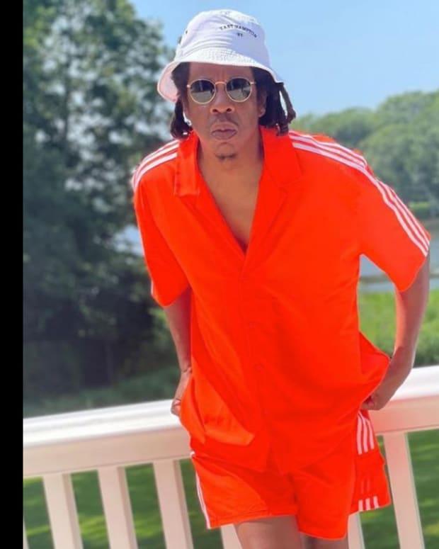 Jay-Z Wearing Flex Park