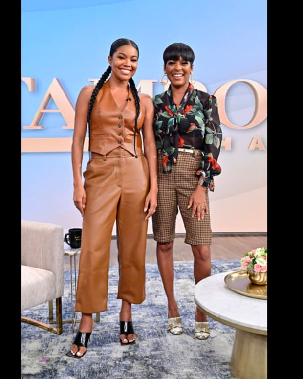 Gabrielle Union and Tamron Hall