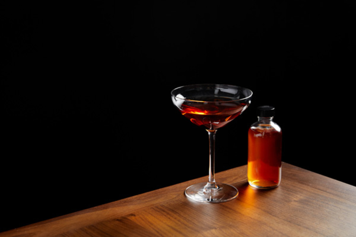 INTERSECT BY LEXUS - NYC Father John Manhattan cocktail