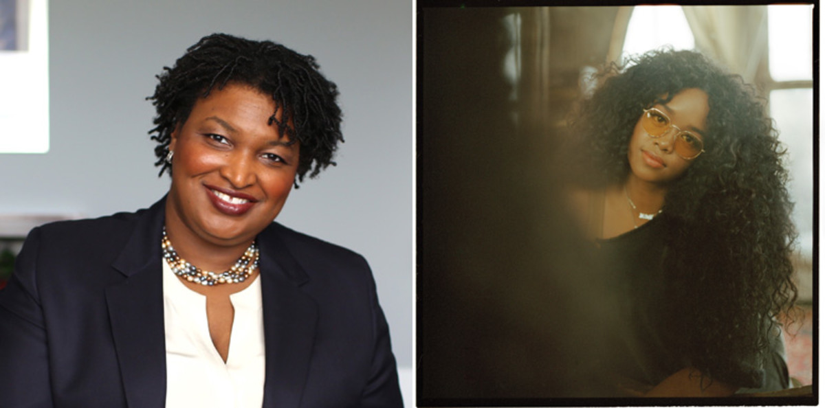 Stacey Abrams and H.E.R.