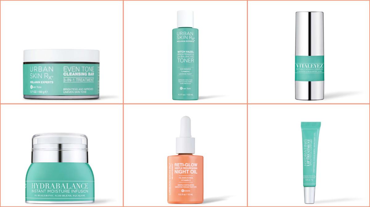 Urban Skin Rx products Erika La Pearl used on Cardi B's skin