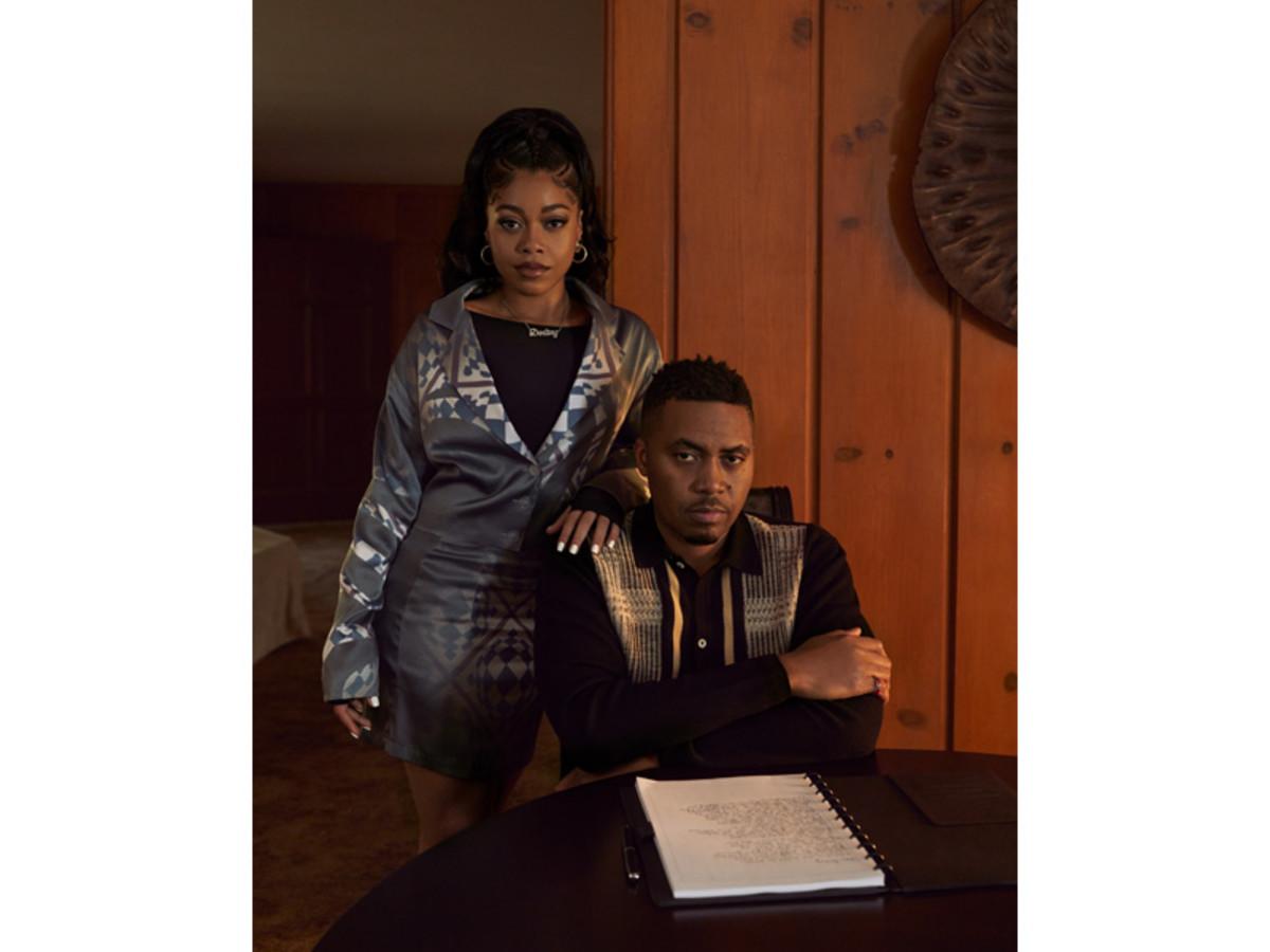 "Destiny Jones and father Nas appear in ""Dear Destiny."""
