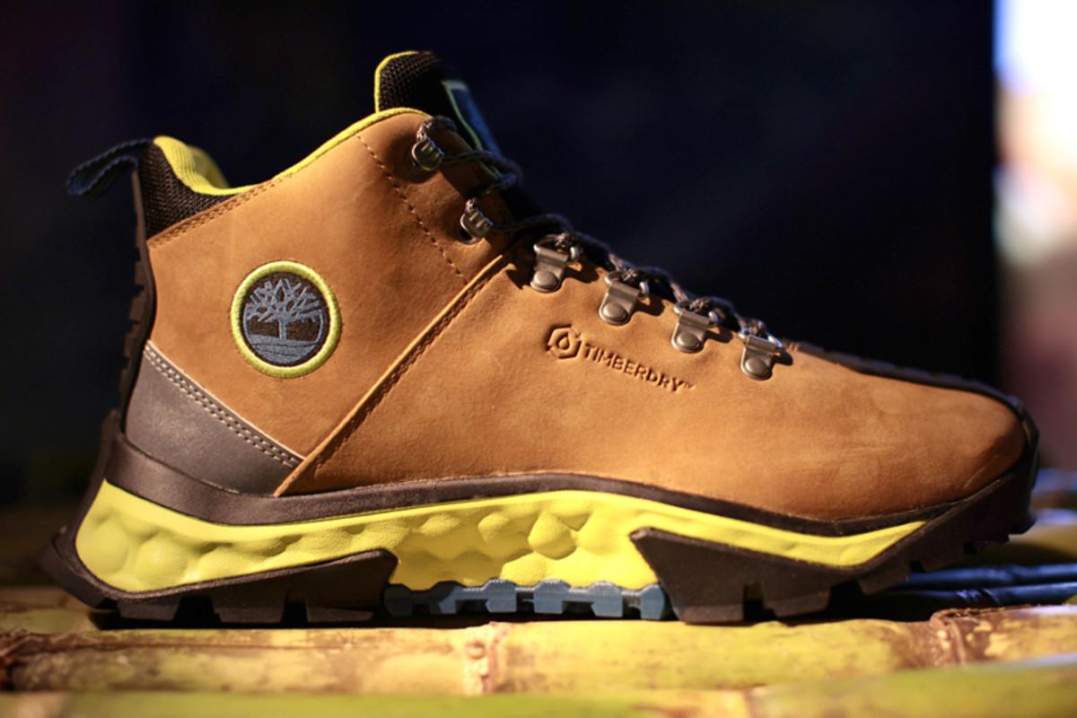 Timberland Men's GreenStride Solar Ridge Waterproof Hiking Boot