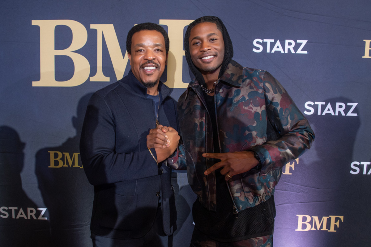 BMF stars Russell Hornsby and Da'Vinchi