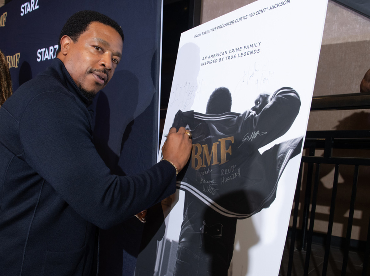 BMF star Russell Hornsby