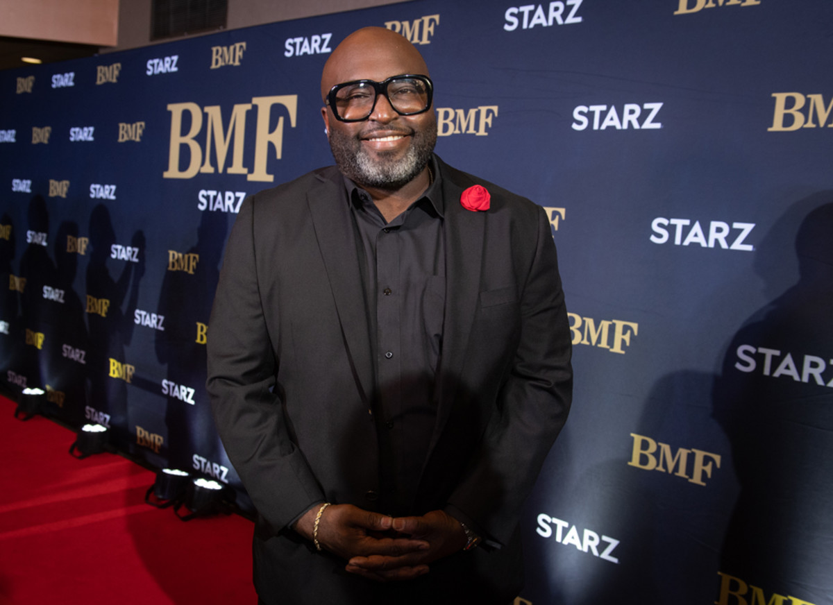 BMFshow runner, executive producer, and writer Randy Huggins