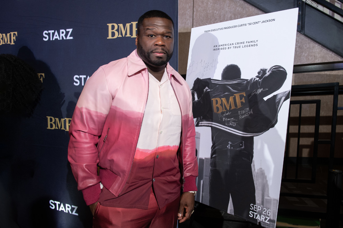"""BMFexecutive producer and director Curtis """"50 Cent"""" Jackson"""