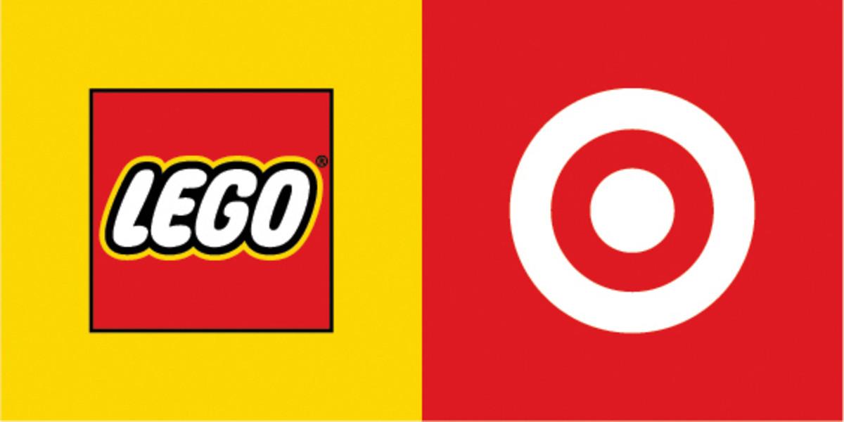 LEGO and Target logos