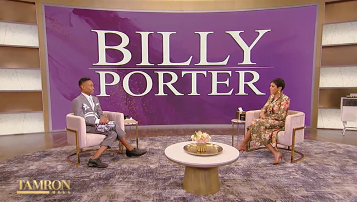 Billy Porter on the Wednesday, May 19th, edition of Tamron Hall