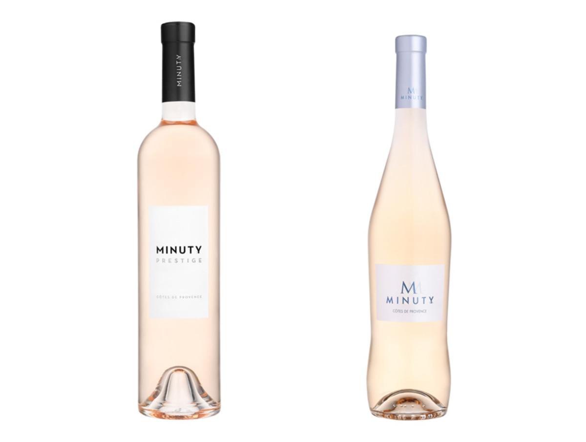 Château Minuty rosés Minuty Prestige and M de Minuty