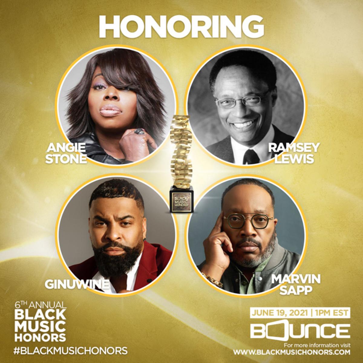 6th Annual Black Music Honors award recipients