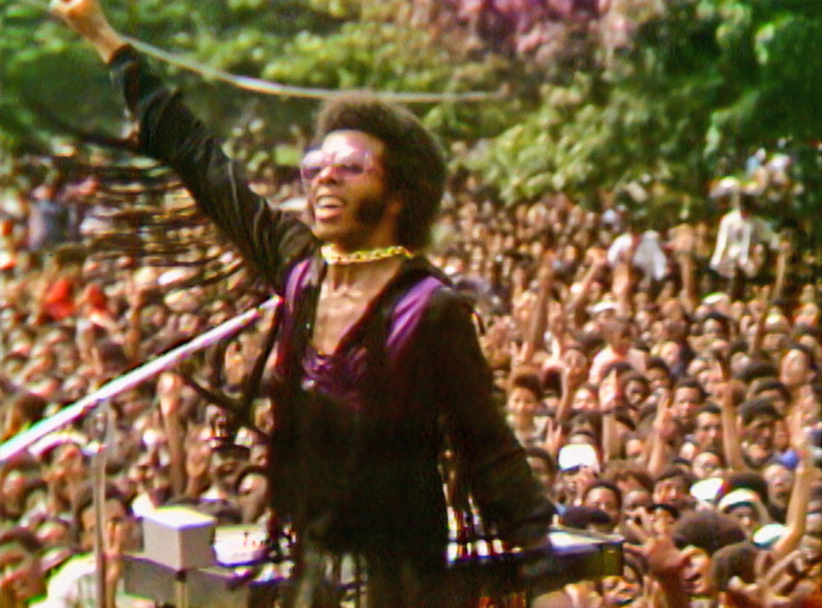 Sly and the Family Stone give a must-see performance during the Harlem Cultural Festival.