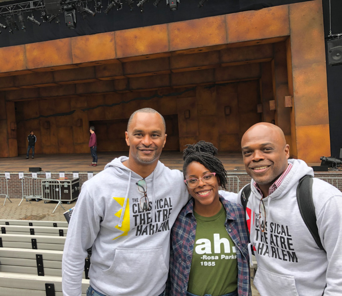 The Classical Theatre of Harlem's Seize the King cast