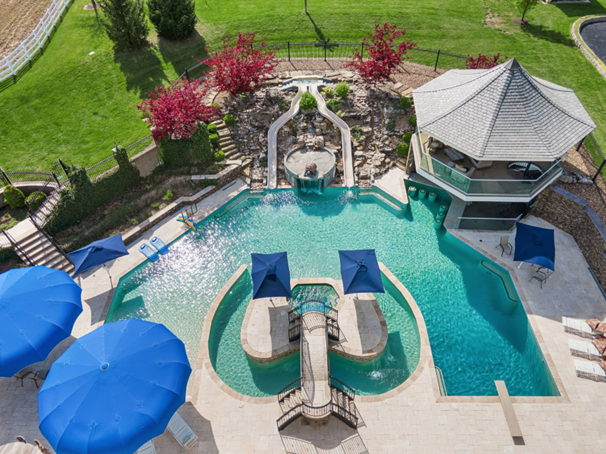 America's most entertaining mansion in Wentzville, MO