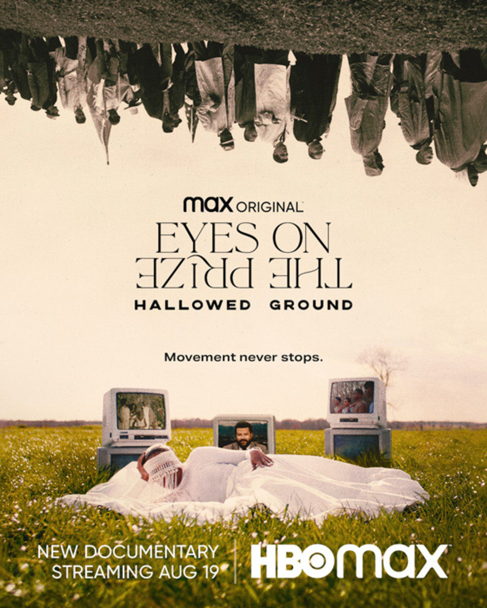 Key art for HBO Max original film Eyes on the Prize: Hallowed Ground