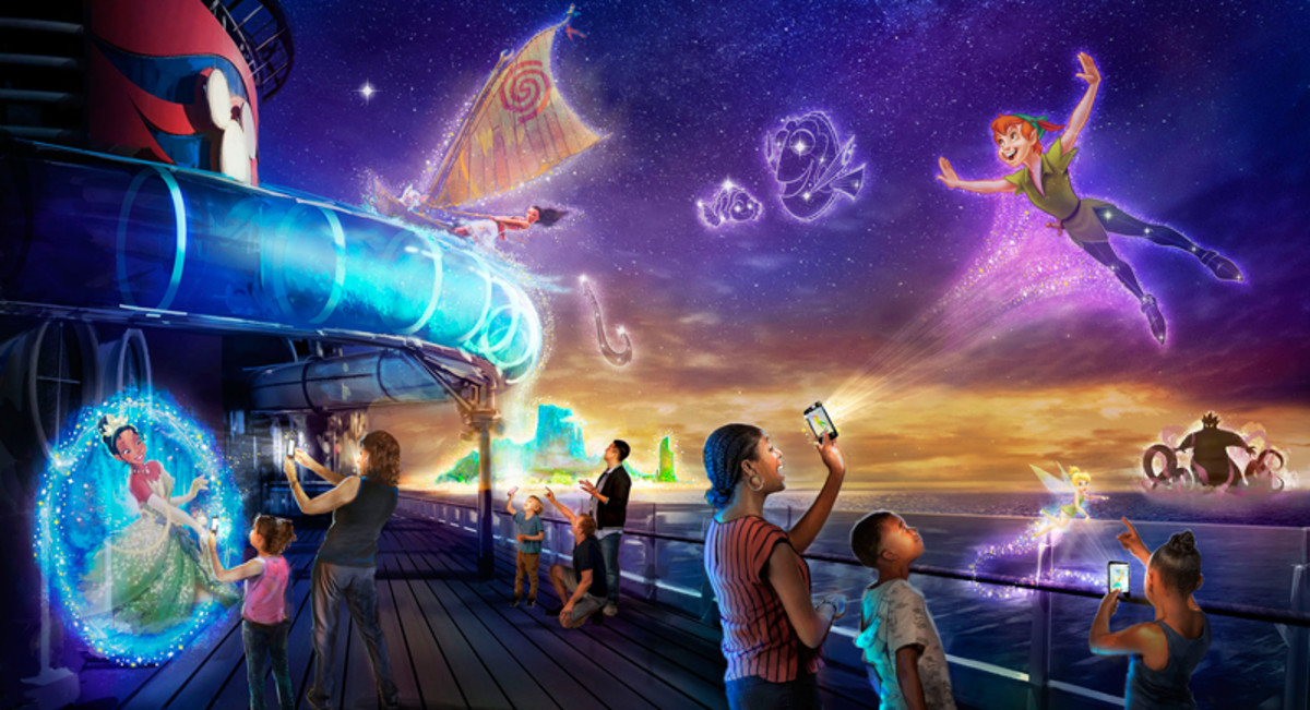 Disney Uncharted Adventure aboard the Disney Wish