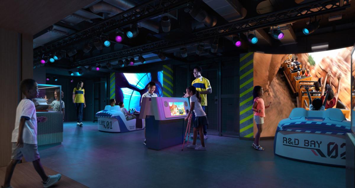 Walt Disney Imagineering Lab aboard the Disney Wish