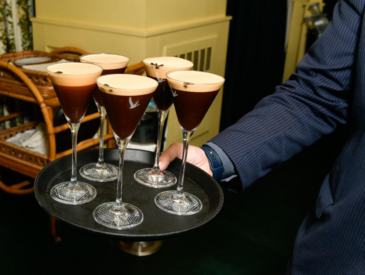 Grey Goose espresso martinis