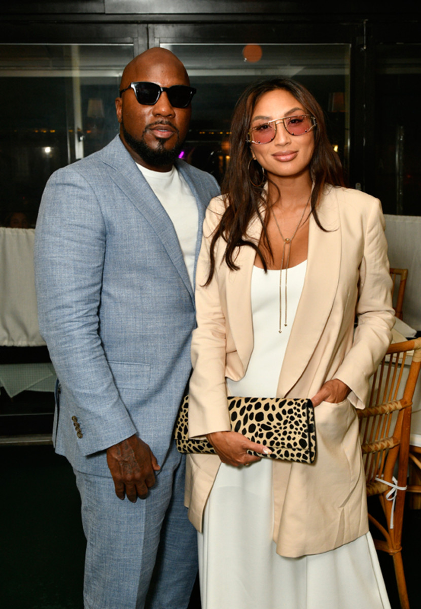 Jeezy and Jeannie Mai celebrate Prabal Gurung's Spring 2022 collection at his private after-show dinner with Grey Goose vodka on September 8, 2021.
