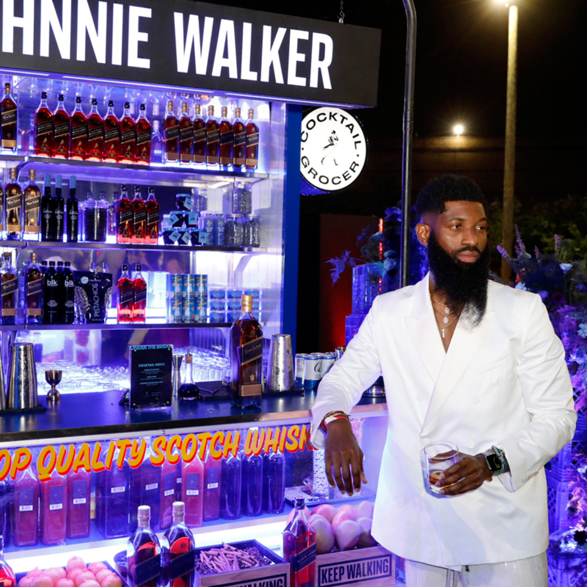 Allen Onyia toasts to Black fashion and culture with Johnnie Walker.
