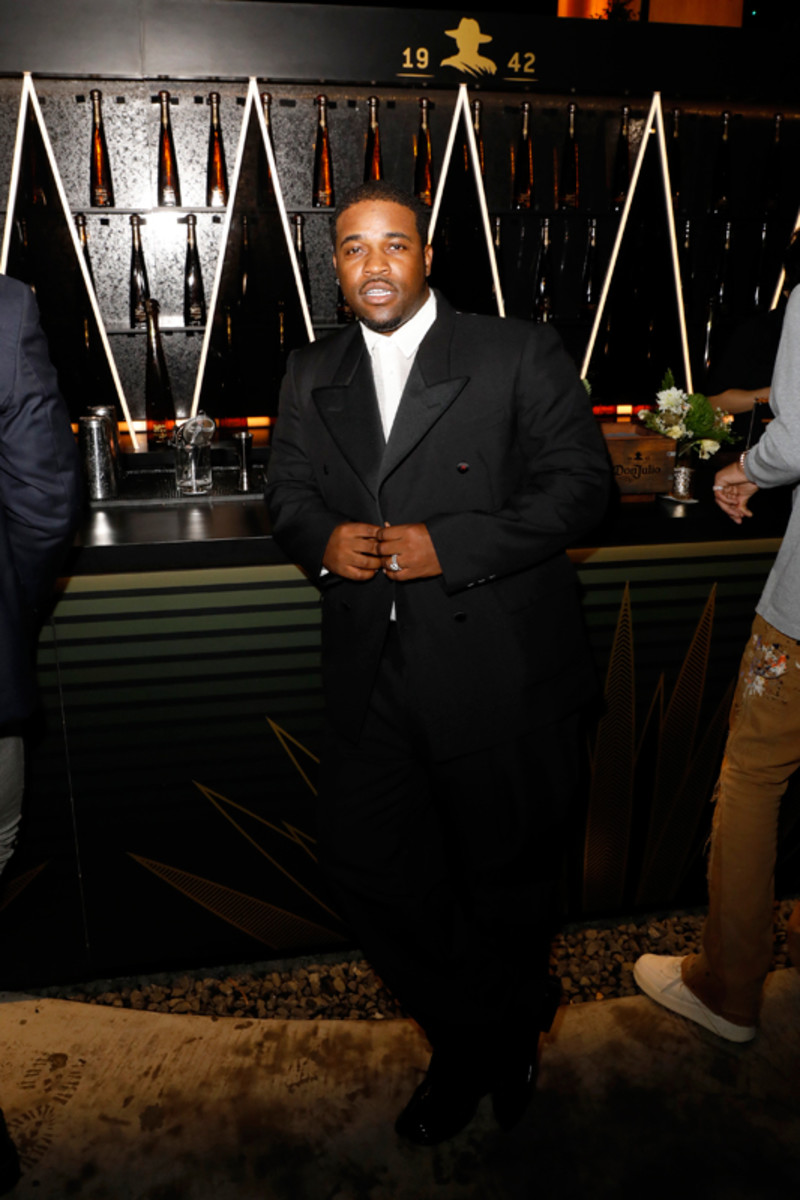A$AP Ferg attends LaQuan Smith's Met Gala afterparty.